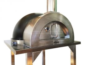 Il fornino Pizza Oven Ilfornino Elite Wood Fired Pizza Oven Stainless Steel