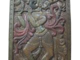 Indian Carved Wood Wall Art 1000 Images About Krishna Carving Wall Hanging Panel On