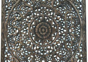 Indian Wood Carved Wall Art Uk Carved Wood Wall Decor Carved Wood