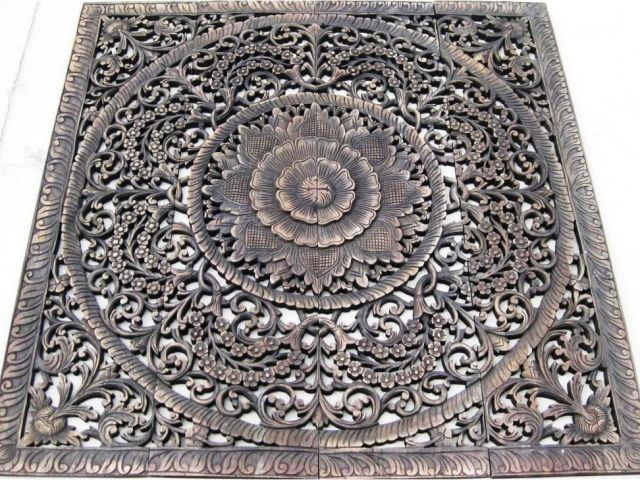Indian Wood Carved Wall Art Uk Carved Wooden Wall Panels Uk Best