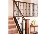 Indoor Stair Railing Kits Home Depot Stair Simple Axxys 8 Ft Stair Rail Kit Stair Railing