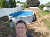 Inground Pools Columbus Ohio 155 Best Semi Above Ground Pool Images Gardens Pools Woodworking