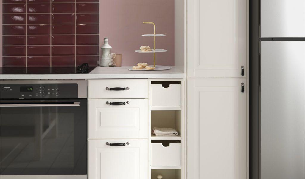Installing Cover Panel On Ikea Dishwasher Tornviken Open Kast Ecru