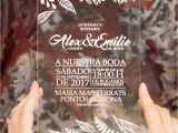 Invitaciones De Boda Sencillas Hechas En Casa Invitaciones En Metacrilato Transparente En 2019 Invitations