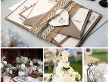 Invitaciones De Boda Sencillas Hechas En Casa Lace Wedding Invitation Kit Simple Wedding Invite Custom