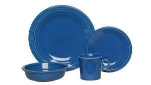 Is Fiesta Dinnerware Microwave Safe Amazon Com Fiesta 4 Piece Place Setting Lapis Dinnerware Sets
