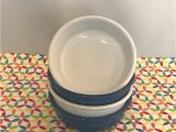 Is Fiestaware Microwave Safe Fiestaware Small Bowl Fiesta Lapis White 14 Oz Cereal Bowls Lot Of 4