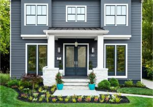 James Hardie Aged Pewter Sherwin Williams Hgtv Magazine About the House Feature House is Foggy Day by