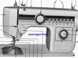 Janome Sewing Machine Manuals Free Download New Home Janome 635 Sewing Machine Instruction Manual