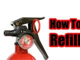 Kidde Fire Extinguisher Recharge How to Refill A Fire Extinguisher Youtube