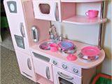 Kidkraft Red Retro Kitchen Replacement Parts Kidkraft Kitchen Pink Vintage Encourages Pretend Play