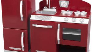 Kidkraft Red Retro Kitchen Replacement Parts Pleasant Vintage Kitchen Set White Ks Raft Red Retro
