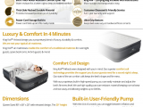 King Koil Queen Size Luxury Raised Air Mattress Amazon Com King Koil Queen Size Luxury Raised Air