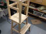 Kitchen Helper Stool Ikea Learning tower Ikea Hack Gabelschereblog