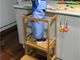 Kitchen Helper Stool Ikea Step Stool and Modified towel Rack Kmart Hacks In 2019 Bunk Bed