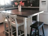 Kitchen Helper Stools Ikea Ikea Stenstorp Kitchen island Hack Here is Another View Of Our Ikea