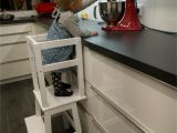 Kitchen Helper Stools Ikea Learning tower Ikea Hack Gabelschereblog