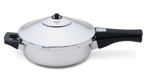 Kuhn Rikon Pressure Cooker Parts Duromatica Frying Pan 9 5 2 6 Quart Kuhn Rikon