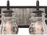 Lamps Plus Led Vanity Lights Bainbridge 8 High Black Iron 2 Light Wall Sconce 23n35 Lamps