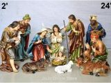 Large Polystone Nativity Set Hobby Lobby 24 Quot Christmas Nativity Set 11pcs Imported Model 2 at