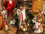 Large Polystone Nativity Set Hobby Lobby Woman S Santa Collection Reflects Faces Of Loved Ones