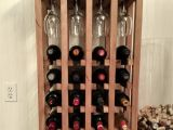 Lattice Wine Rack Diy How to Build This Simple Wine Rack From Pallets Pallet Wine