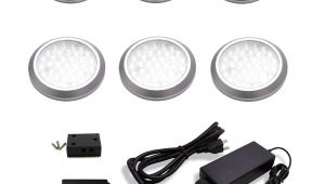 Led Puck Lights 12v Home Depot Macleds Led Under Cabinet Low Profile Puck Light Kit 6