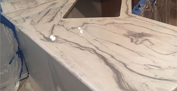 Leggari Diy Metallic Epoxy Countertop Resurfacing Kit Another First Time User Of Our Products and It Looks Amazing