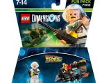 Lego Dimensions Storage Ideas Lego Dimensions Fun Pack Back to the Future Doc Brown Amazon Co Uk