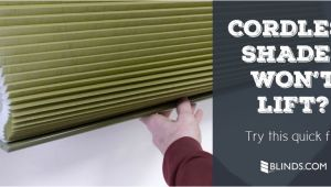 Levolor Cordless Blinds Won T Go Up Customer Service Faq My Cordless Cellular Shades aren 39 T