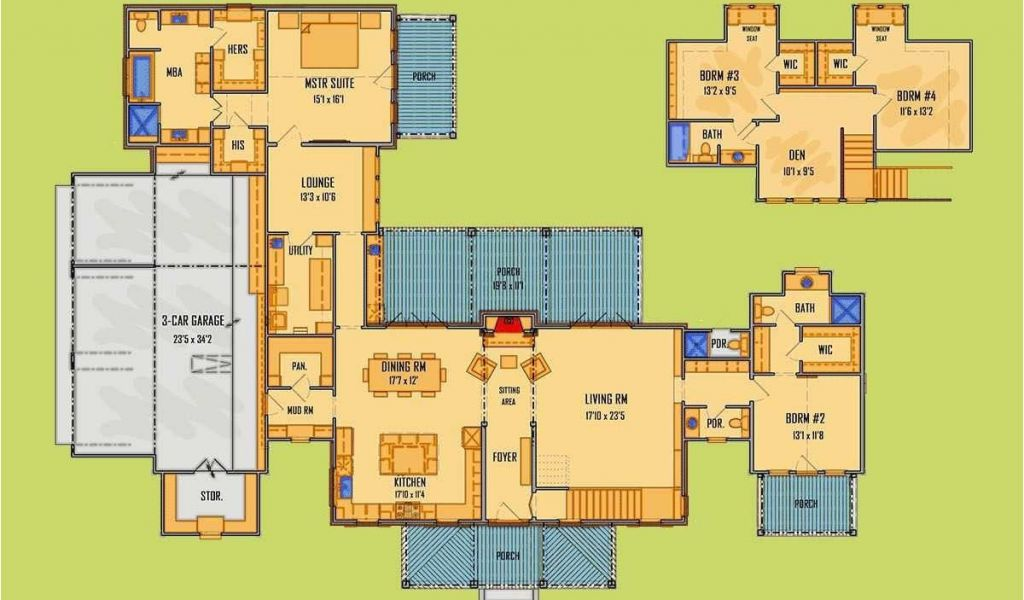 Federal Style House Plans   Lexar Homes Floor Plans Federal Style House Plans Lovely Colonial