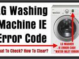Lg Washing Machine Le Error How to Reset Samsung Washing Machine Error Codes Autos Post