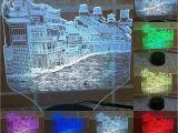 Light the Night Phoenix 2018 Creative Chinese Historical City Of Phoenix 3d Light Usb Led