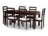 List Of Materials Used to Make Furniture Jaipur 6 Seater Dining Set Includes Dining Table Plus 6 Chairs with