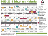 Living Well Spending Less Holiday Planner 2019 School Year Calendar From the Ocsb