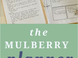 Living Well Spending Less Homeschool Planner Homeschool Basics Archives the Mulberry Journal