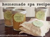 Living Well Spending Less Meal Plan 4 Easy Diy Homemade Spa Treatments Living Well Spending Lessa