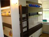 Loft Bed with Crib Underneath Hand Crafted Bunkbed Crib by Endless Design Custommade Com