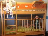 Loft Bed with Room for Crib Underneath Twin Over Twin with Crib so Cool Moving Back Home