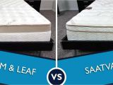 Loom and Leaf Vs Saatva Loom and Leaf Vs Saatva Mattress Review Sleepopolis