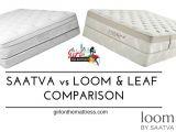 Loom and Leaf Vs Saatva Saatva Vs Loom and Leaf Mattress Comparison Girl On the