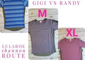 Lularoe Perfect T Price Sizing Comparison Of the Lularoe Gigi and Randy Lularoe
