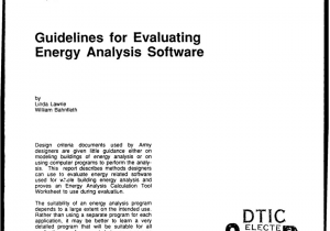 Macdill Afb Postal Zip Code Pdf Guidelines for Evaluating Energy Analysis software