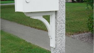 Mailbox Bracket for Granite Post Granite Posts Mailboxes Brackets and Accessories