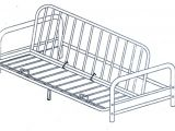 Mainstays Futon assembly Instructions Mainstays Metal Arm Futon assembly Instruction Bm