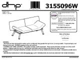 Mainstays Metal Arm Futon assembly Instructions Mainstays Metal Arm Futon Instruction Manual Bm Furnititure