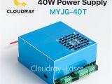 Maquina De Cortar Ceramica A Laser Cloudray 35 50 W Fuente De Alimentacia N Para Co2 Grabado Laser