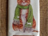 Mary Lake Thompson Flour Sack towels Cat In Mice Scarf Snow Mary Lake Thompson Winter Flour