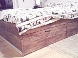 Matera Bed with Storage My New Hacked Ikea Bed Ikea Brimnes with Wood Adhesive and