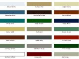 Mcelroy Metal Color Chart Mcelroy Mcelroy Metal Color Chart